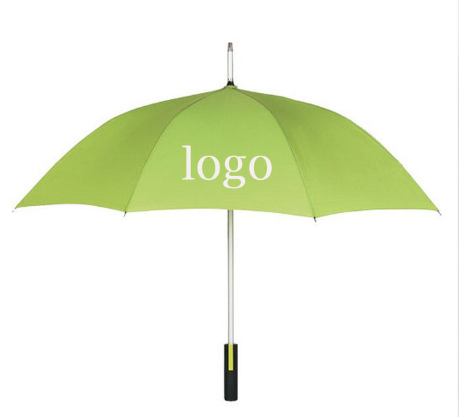 Neon green spectrum umbrella