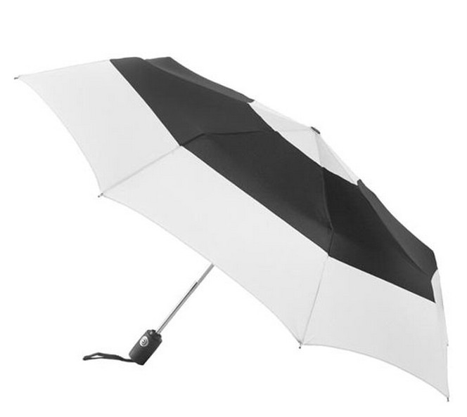 190T Polyester auto open folding umbrella