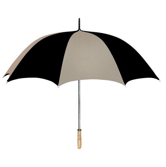 Brown / black design umbrella