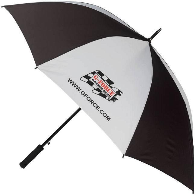 Black / white windproof umbrella