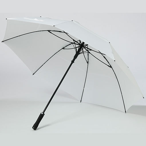 Double canopy vented windproof umbrella