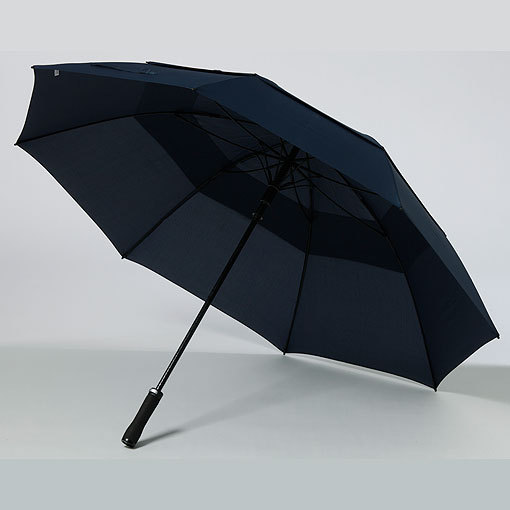 Double canopy windproof umbrella