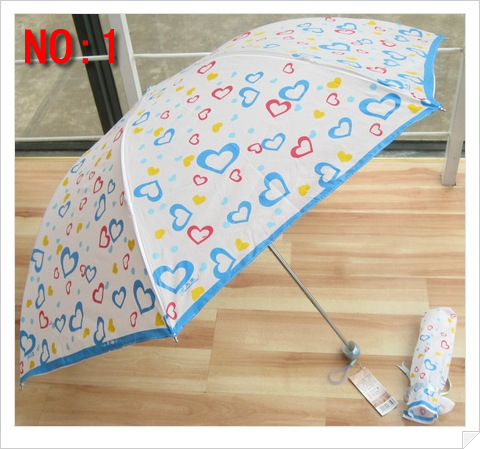 2013 Fashion 2-section manual open umbrella