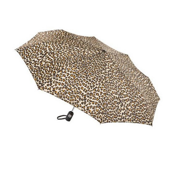 Panther print lightweight umbrella