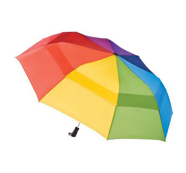 Polychromatic umbrella