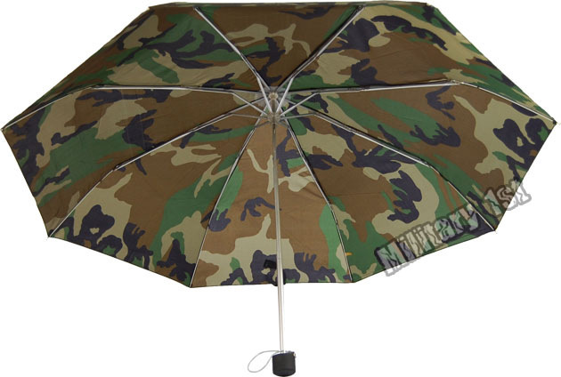Camouflage mini manual umbrella