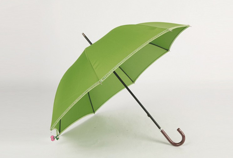 Green environmetal stick umbrella